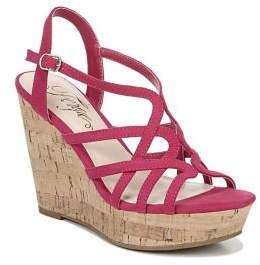 Fergie Villa Crisscross Wedge Sandals