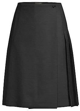 Burberry Women's Classic Wool Kilt Skirt