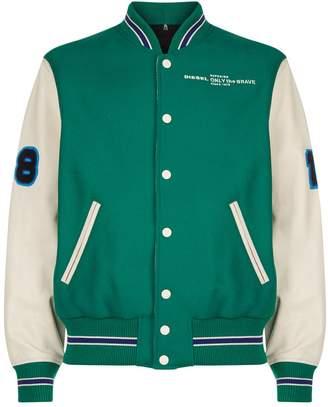 Diesel L-Harry Varsity Jacket