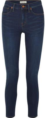 Madewell High-rise Stretch-denim Skinny Jeans - Dark denim