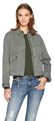 Velvet by Graham & Spencer Women's Cropped Army Jacket