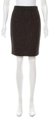 St. John Knit Knee-Length Skirt