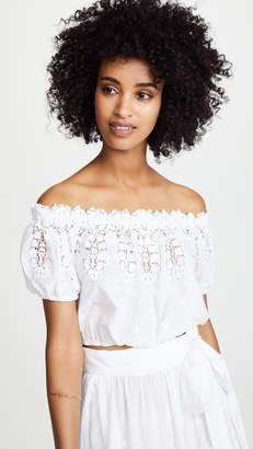 Miguelina Tessa Off Shoulder Top