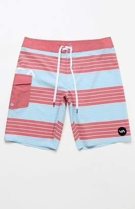 """RVCA Uncivil Stripe 20"""" Boardshorts"""