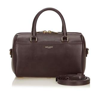 Saint Laurent Duffle leather handbag