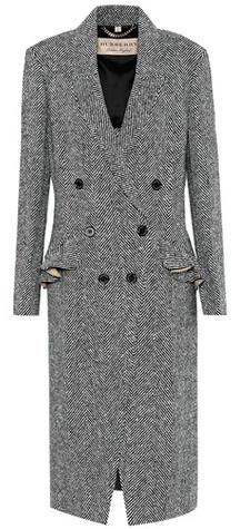 Burberry Trentwood herringbone wool coat