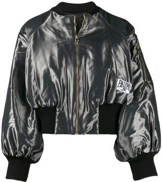 Palomo Spain satin bomber jacket