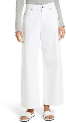 Vince Women's Wide Leg Crop Jeans