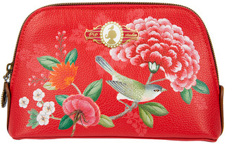 Pip Studio Good Morning Triangle Cosmetic Bag - Red - Small