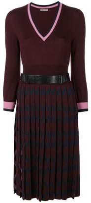 Bottega Veneta v-neck knit dress