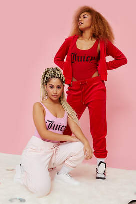 Ardene Juicy Couture Velour Tracksuit Joggers