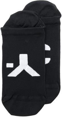 Y-3 branded ankle socks