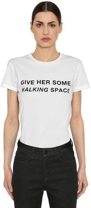 16Arlington Give Her Space Printed Jersey T-shirt