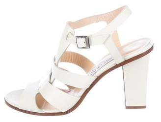 Jimmy Choo Leather Multi-Strap Sandals