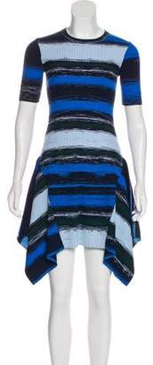 Opening Ceremony Striped Asymmetrical Dress w/ Tags