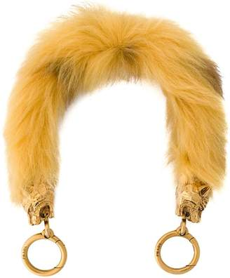 Prada Shearling bag strap