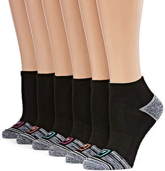 Fila Colorblock Welt 6 Pair Low Cut Socks - Womens