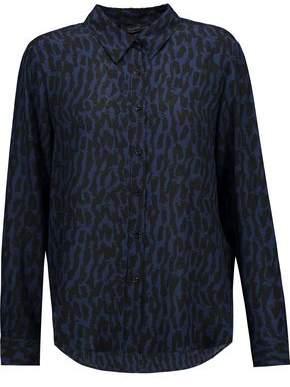 Belstaff Whitley Printed Silk-Georgette Shirt