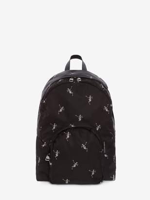 Alexander McQueen Small Dancing Skeleton Backpack