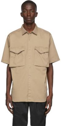 Nonnative Beige Hunter Short Sleeve Shirt
