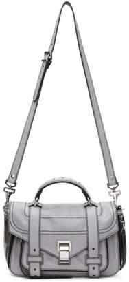 Proenza Schouler Grey Tiny Zip PS1and Satchel