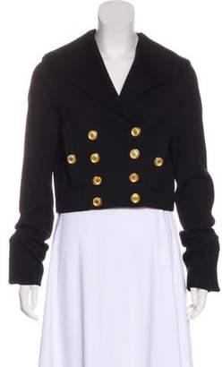 Givenchy Crop Wool Jacket