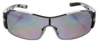 Prada Tinted Shield Sunglasses