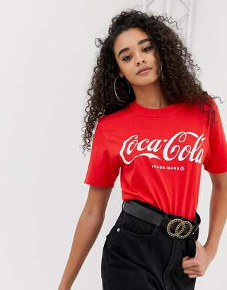 PrettyLittleThing Coca Cola T-Shirt