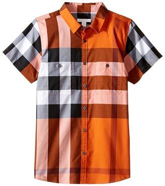 Burberry Kids - Mini Camber Tee Boy's T Shirt $130 thestylecure.com