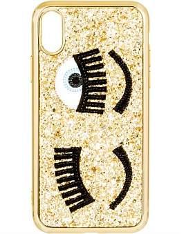 Chiara Ferragni Flirting Glitter Cover Iphone X