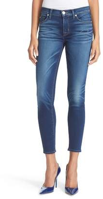 Hudson Nico Mid Rise Ankle Skinny Jeans