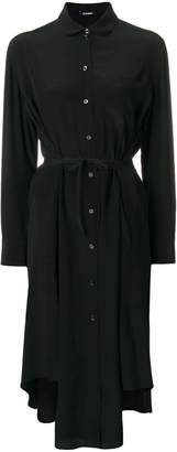 Jil Sander Navy midi shirt dress