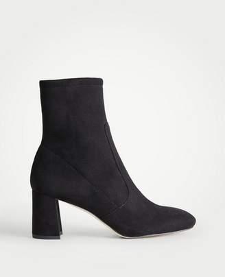 Ann Taylor Larissa Block Heel Booties