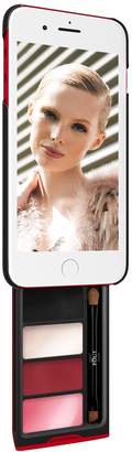 Pout Case - Phone Makeup Case For iPhone Plus Black/Red - Glam On
