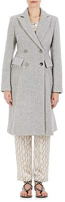 Isabel Marant Women's Danki Alpaca-Wool Double-Breasted Coat