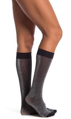Pretty Polly Lurex Knee High Socks