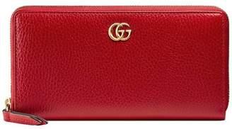 Gucci Leather zip around wallet