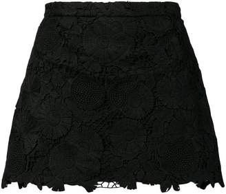 RED Valentino lace panel shorts