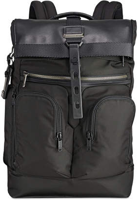 Tumi Men Alpha Bravo London Roll-Top Backpack