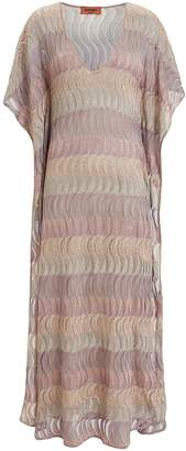 Missoni Metallic Stripe Kaftan
