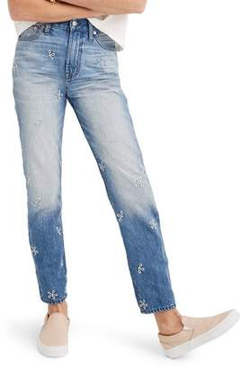 Madewell Perfect Summer Embroidered High Waist Jeans
