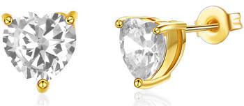 Fashionvictime Ohrringe Ohrringe Damen - Vergoldetes Metall Modeschmuck - Zirkonia