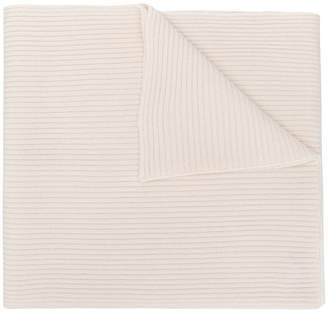 Cashmere In Love cashmere ribbed scarf