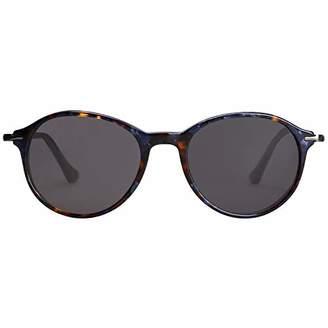 af0a8b5329 Vintage Sunglasses MAREINE Unisex Grey Lens Black+Silver Frame - Amazon Vine