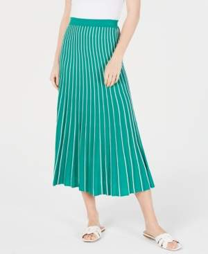 ASTR the Label Yuri Pleated Midi Skirt