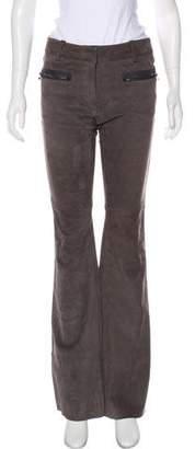 3.1 Phillip Lim Mid-Rise Leather Pants