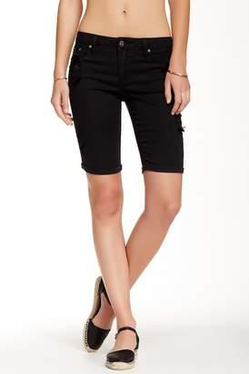 Tractr Distressed Bermuda Shorts