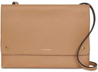 Burberry Leather Pouch with Detachable Strap