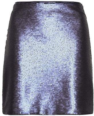 Banana Republic Petite Sequin Mini Skirt