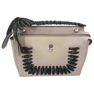 Fendi Dot Com leather handbag